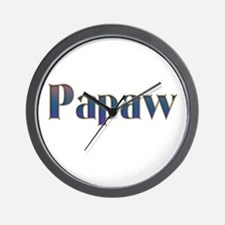 PAPAW Wall Clock
