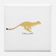 Cheetah #2 Tile Coaster