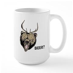 Beer Bear Deer Mac Mug