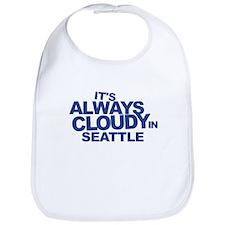 Always Cloudy in Seattle Bib