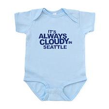 Always Cloudy in Seattle Infant Bodysuit