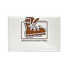 Deschutes River Trail Rectangle Magnet