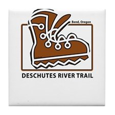 Deschutes River Trail Tile Coaster