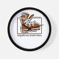 Deschutes River Trail Wall Clock