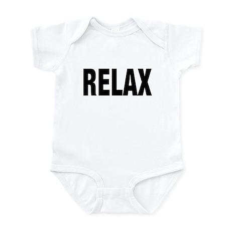 Frankie Says RELAX Retro 80s Infant Creeper
