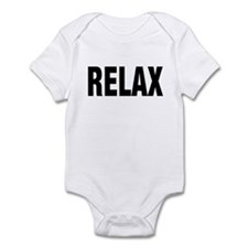Frankie Says RELAX Retro 80s Infant Creeper