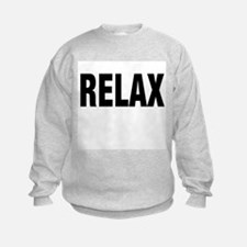 Frankie Says RELAX Retro 80s Sweatshirt