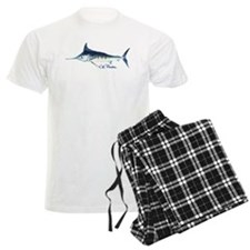 Blue Marlin Pajamas