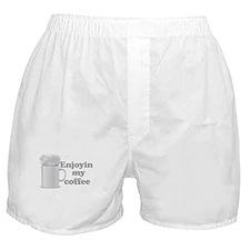 Enjoyin My Coffee Boxer Shorts