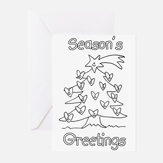 Color Your Own Greeting Cards CafePress