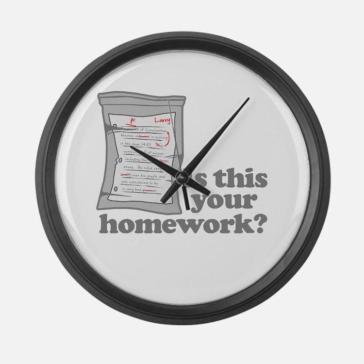 Wall homework