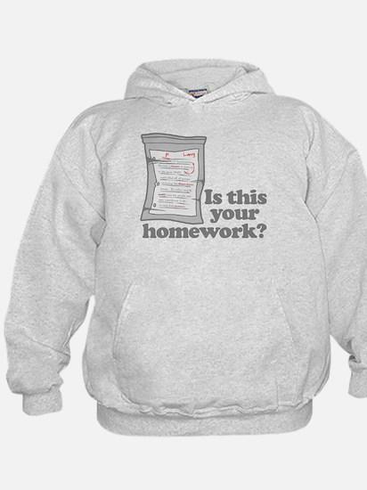 Your Homework Larry Hoodie