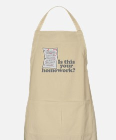 This Your Homework Apron