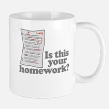 This Your Homework Small Small Mug