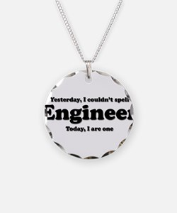 Can't spell Engineer Necklace