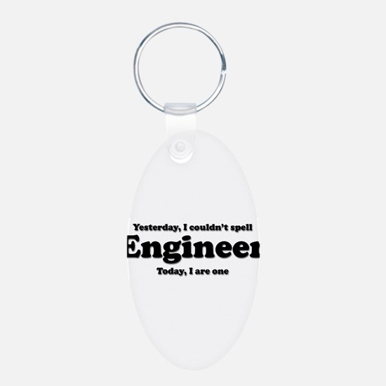 Can't spell Engineer Keychains