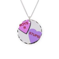 Boys R Stupid Necklace