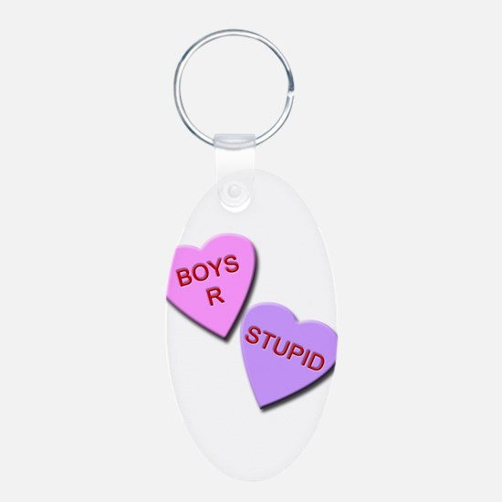 Boys R Stupid Keychains