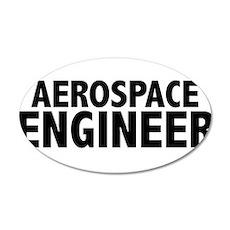 Aerospace Engineer 22x14 Oval Wall Peel