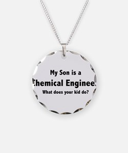 Chemical Engineer Son Necklace
