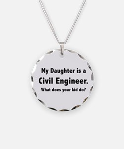 Civil Engineer Daughter Necklace