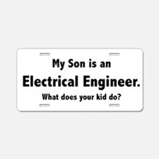 Electrical Engineer Son Aluminum License Plate