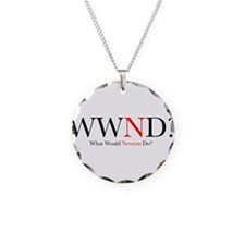 What Would Newton Do? Necklace