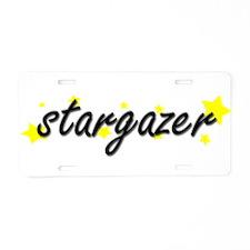 Stargazer Aluminum License Plate