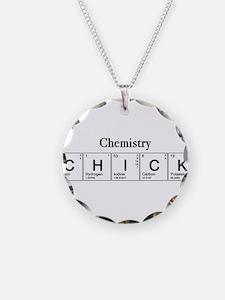 Chemistry Chick Necklace