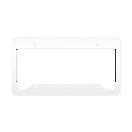 Periodic Baby License Plate Holder