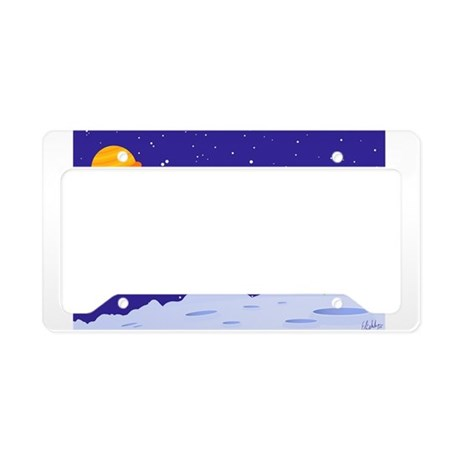 Space Patrol License Plate Holder