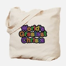 Worlds Greatest Christa Tote Bag