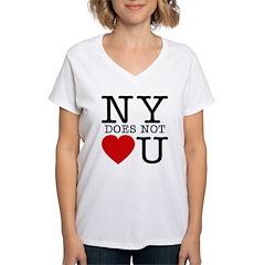 NY New York No Love Shirt