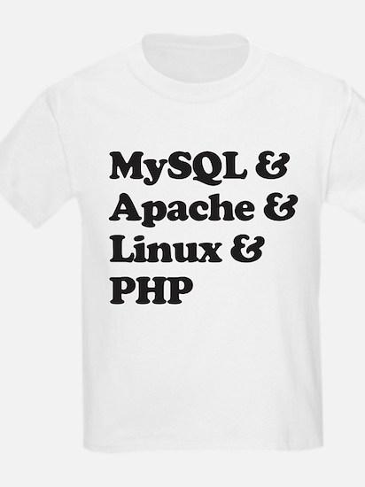 PHP MySQL Linux T-Shirt