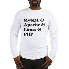 PHP MySQL Linux Long Sleeve T-Shirt