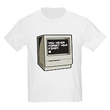 Never Forget First Computer T-Shirt