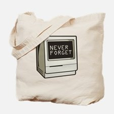 Never Forget Computer Tote Bag