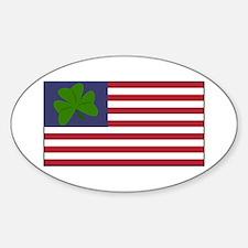 Irish American Decal