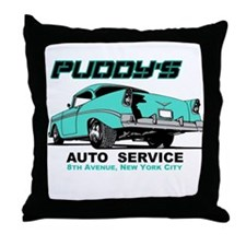 Seinfeld Puddy Auto Throw Pillow