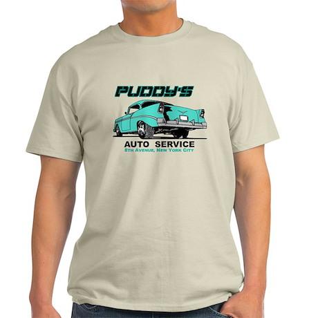 Seinfeld Puddy Auto Light T-Shirt