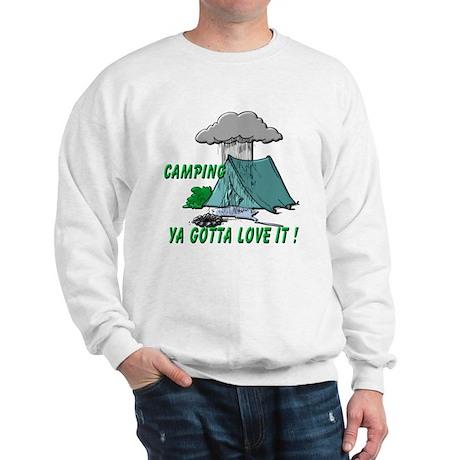 Camping in the Rain Sweatshirt