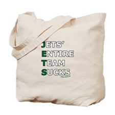 JETS SUCK Tote Bag