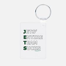 JETS SUCK Keychains