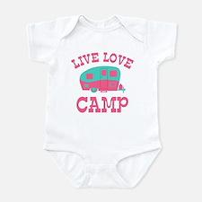 Live Love Camp RV Infant Bodysuit