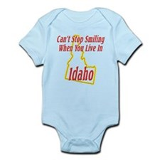 Can't Stop Smiling in ID Infant Bodysuit
