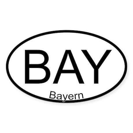 Oval Sticker Bavaria