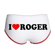 I (Heart) Roger Women's Boy Brief