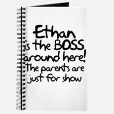 Ethan is the Boss Journal