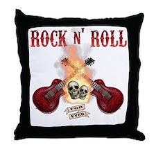 Rock n' Roll 4 Ever Throw Pillow