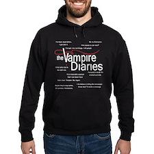 Vampire Diaries Quotes Hoody